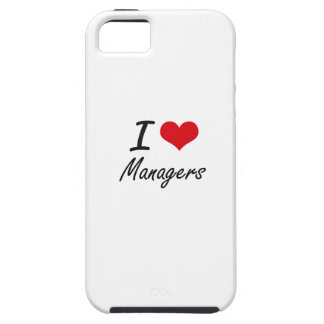 I love Managers iPhone 5 Cases