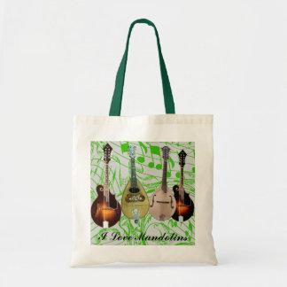 I LOVE MANDOLINS-BAG
