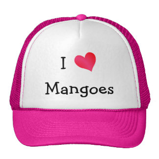 I Love Mangoes Cap