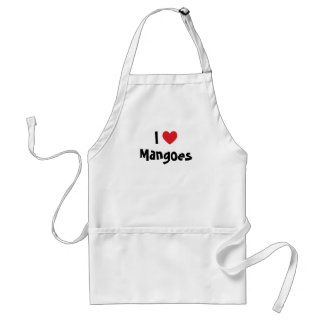 I Love Mangoes Standard Apron