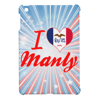 I Love Manly, Iowa iPad Mini Cover