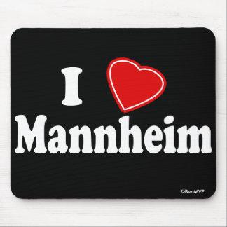 I Love Mannheim Mousepads