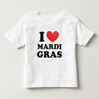 I Love Mardi Gras Toddler T-Shirt