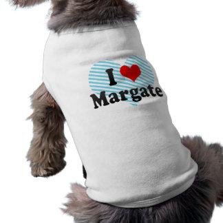 I Love Margate, United States Sleeveless Dog Shirt