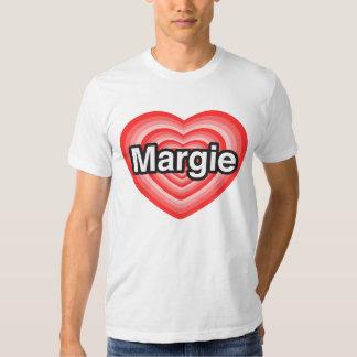 I love Margie. I love you Margie. Heart T Shirts