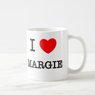 I Love Margie Coffee Mugs