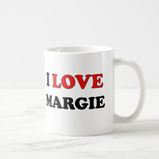 I Love Margie Mugs