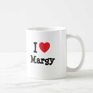 I love Margy heart T-Shirt Coffee Mugs
