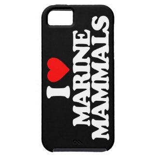 I LOVE MARINE MAMMALS iPhone 5 CASES