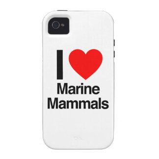 i love marine mammals case for the iPhone 4