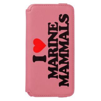 I LOVE MARINE MAMMALS INCIPIO WATSON™ iPhone 6 WALLET CASE