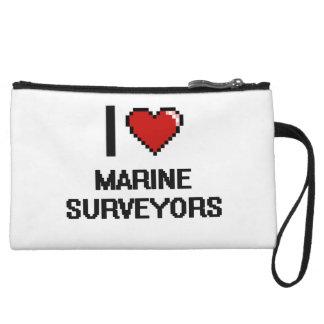 I love Marine Surveyors Wristlet Clutches