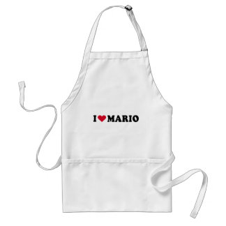 I LOVE MARIO APRONS
