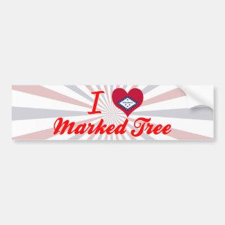 I Love Marked Tree, Arkansas Bumper Sticker