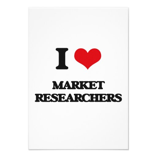 I love Market Researchers Announcement