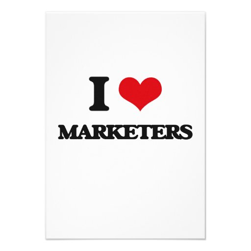 I love Marketers Custom Invite