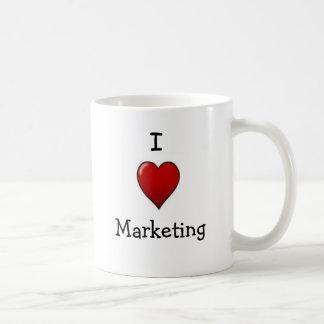 I Love Marketing - double-sided mug