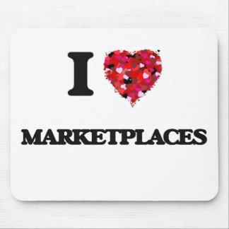 I Love Marketplaces Mouse Pad