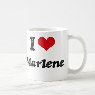 I Love Marlene Coffee Mugs