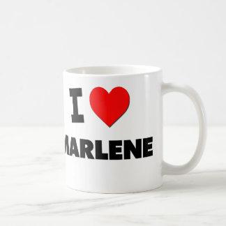 I Love Marlene Mugs