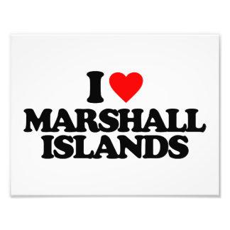 I LOVE MARSHALL ISLANDS ART PHOTO