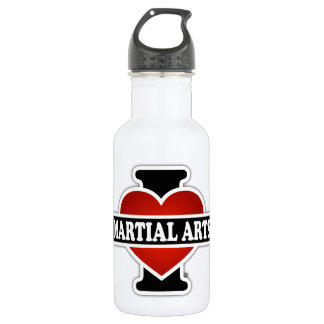 I Love Martial Arts 532 Ml Water Bottle