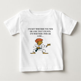 i love martial arts baby T-Shirt
