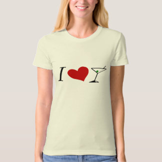 I Love Martinis T-Shirt