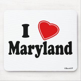 I Love Maryland Mousepads