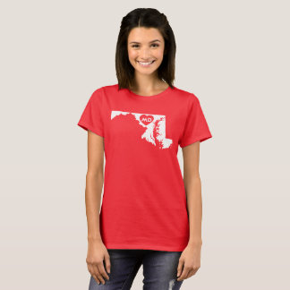 I Love Maryland State Women's Basic T-Shirt