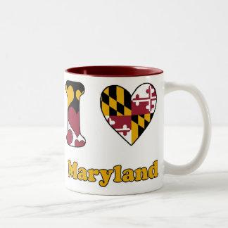 I love Maryland Two-Tone Coffee Mug