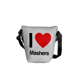 i love mashers commuter bags