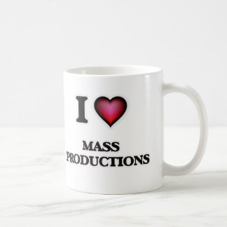 I Love Mass Productions Coffee Mug