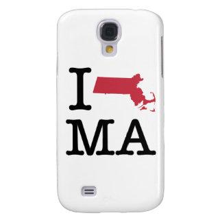 I Love Massachusetts Samsung Galaxy S4 Covers