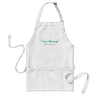 I Love Massage! Apron