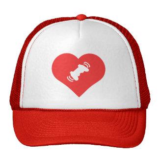 I Love Massagers Cool Symbol Cap