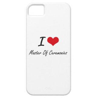 I Love Master Of Ceremonies iPhone 5 Cases