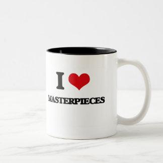 I Love Masterpieces Mug