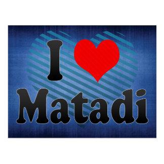 I Love Matadi, Congo Postcard