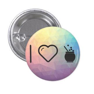 I Love Mates 3 Cm Round Badge