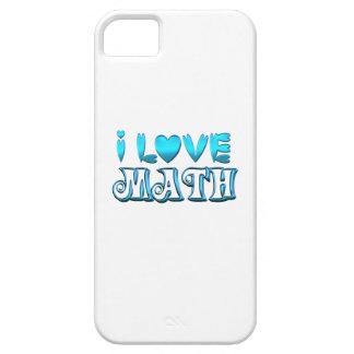 I Love Math Barely There iPhone 5 Case