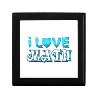 I Love Math Gift Box