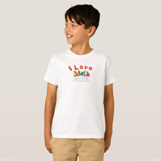 """I Love Math"" T-Shirt"
