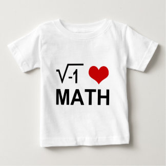 I love MATH! T Shirts