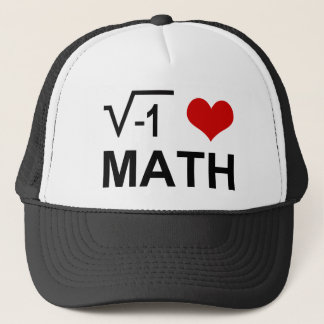 I love MATH! Trucker Hat