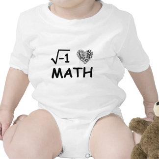I love math baby creeper