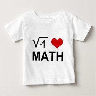 I love MATH! Tee Shirt