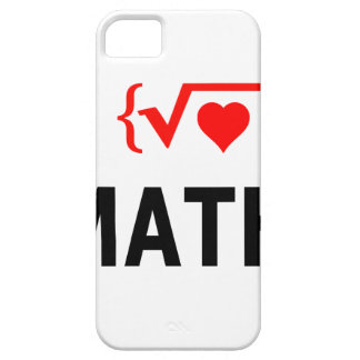 I Love Math White Barely There iPhone 5 Case