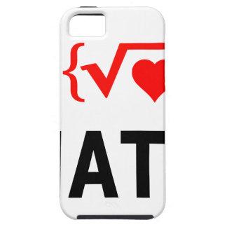 I Love Math White iPhone 5 Case