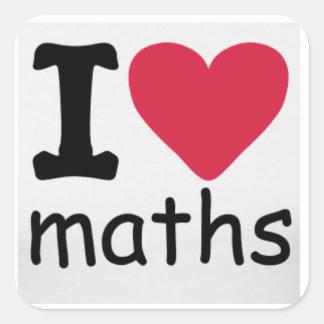 I love Maths Sticker